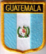 Guatemala Embroidered Flag Patch, style 07